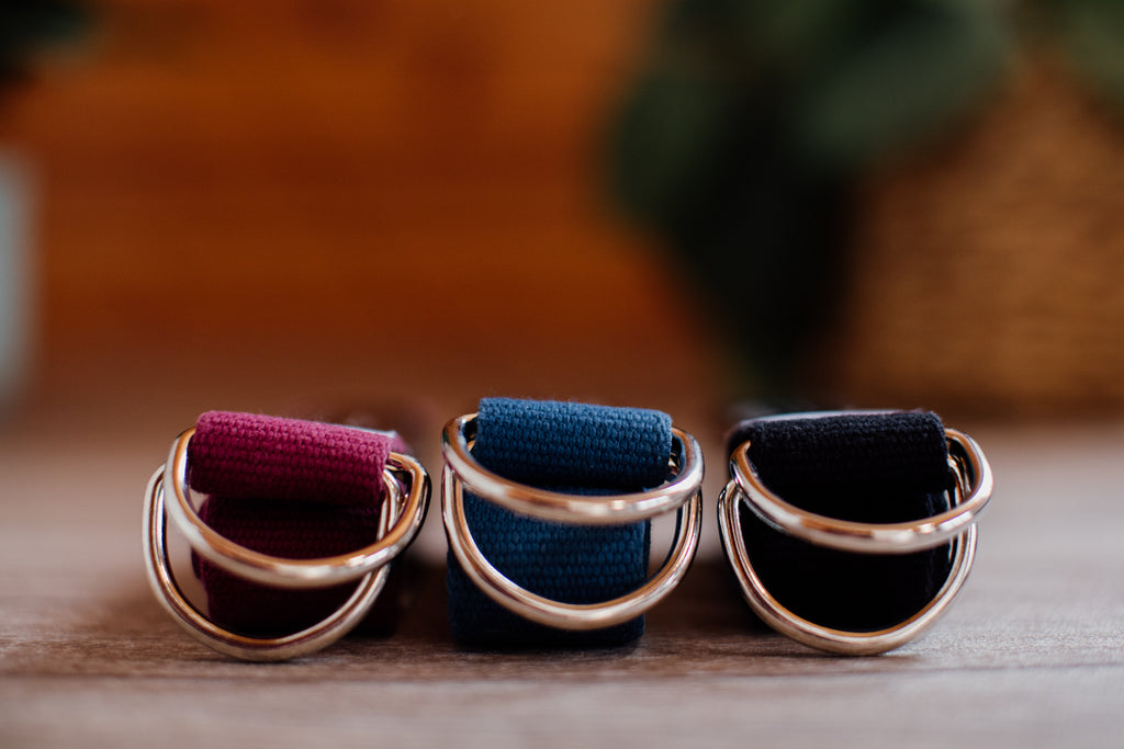 Made from 100% natural, premium, sustainable, and biodegradable cotton, with steel D-rings. Proudly handmade in South Africa.  Available in 3 colours. Standard length and extra length sizing options available.