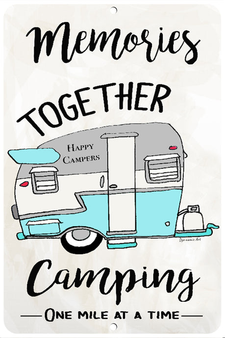 Camping Memories Together Sign