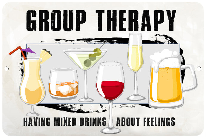Group Therapy Bar Sign