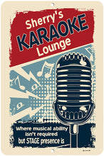 Load image into Gallery viewer, Personalized Karaoke Lounge Sign