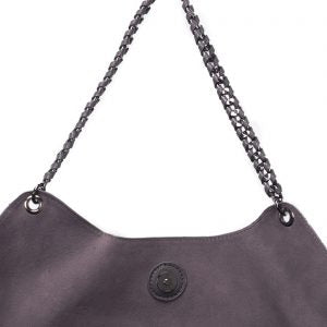 Grey Chain Trim Tote