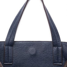Load image into Gallery viewer, GREY & NAVY REVERSIBLE CROSS-BODY HANDBAG