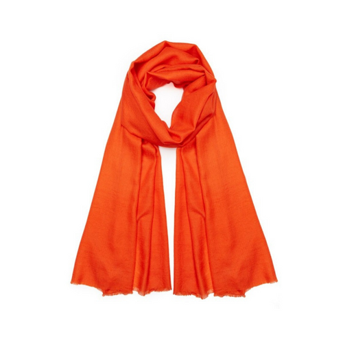 NEON ORANGE PASHMINA