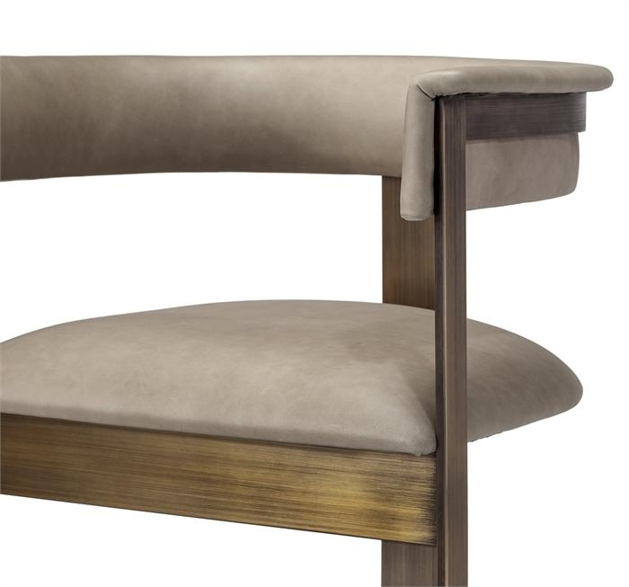 Moderne Taupe Chair