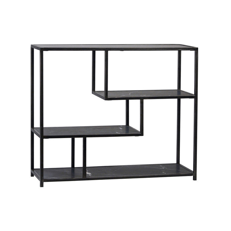 Black Marble Shelving unit