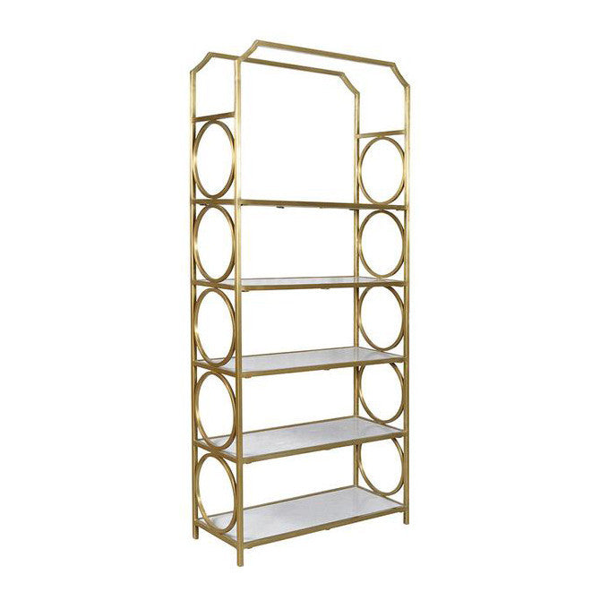 Looped Brass Shelf