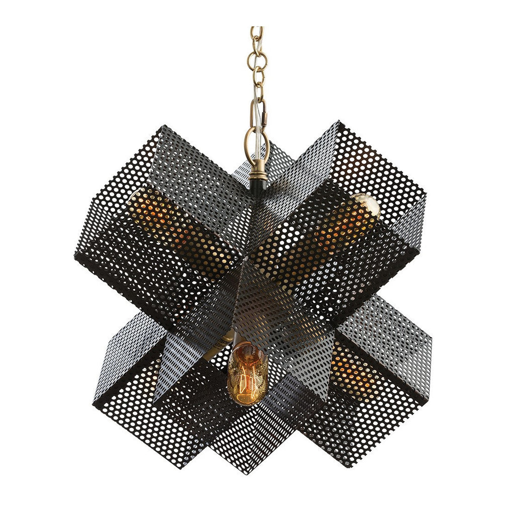 Large Perforated Chandelier