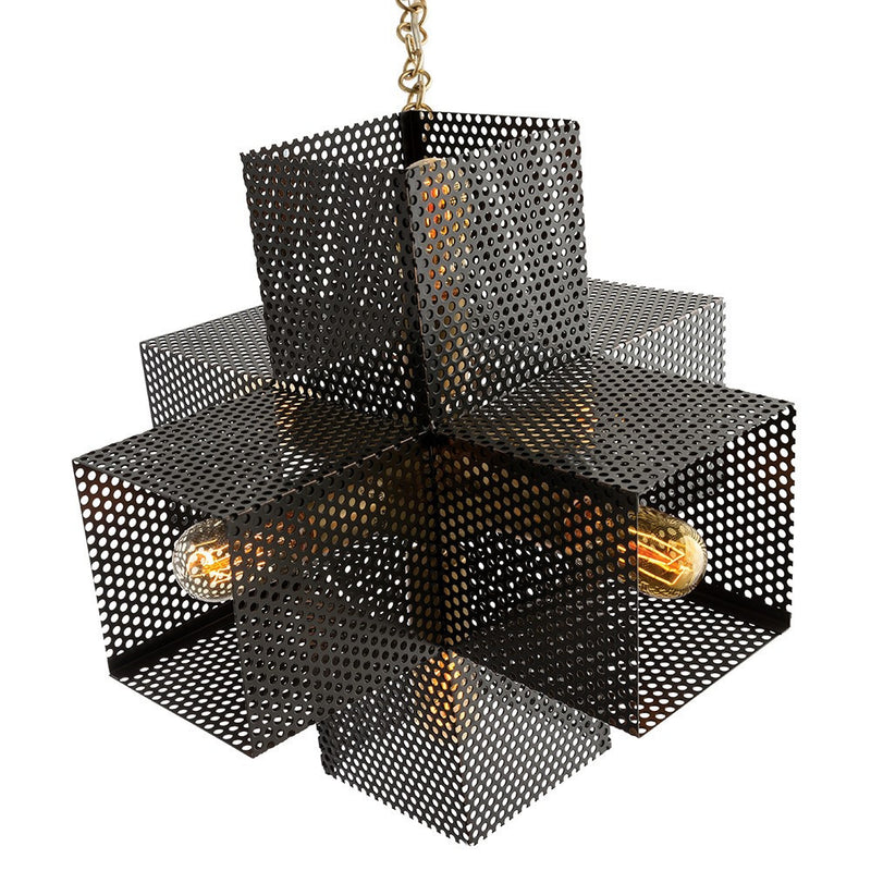 Perforated Chandelier