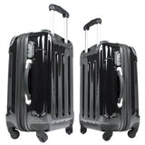 Lot De 3 Valises Bagage noir 0301002