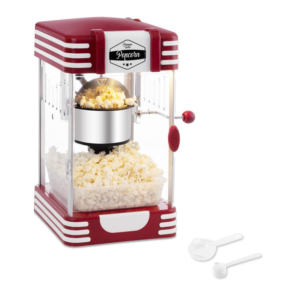 Machine à popcorn design rétro rouge 14_0002336
