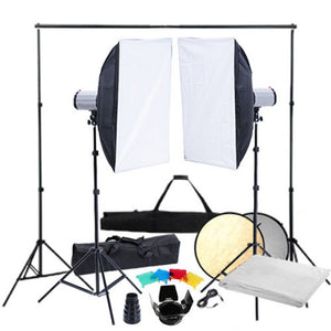 Eclairage studio photo flash softbox fond 1802038