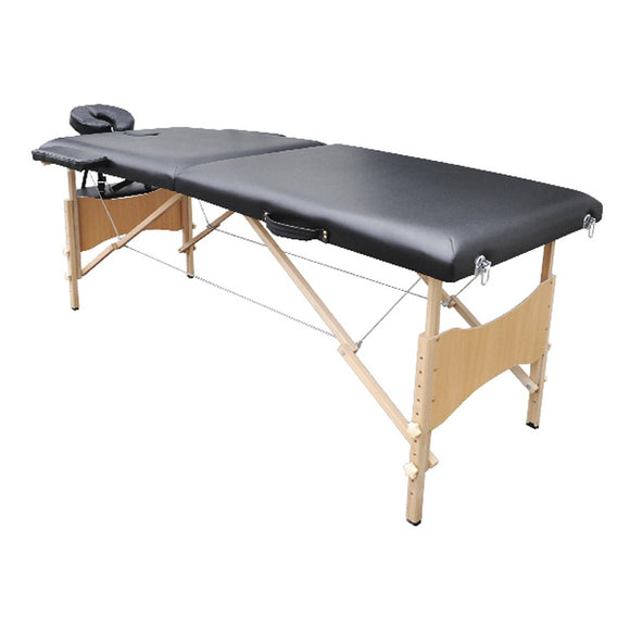 Table de massage 2 zones noir 2002024