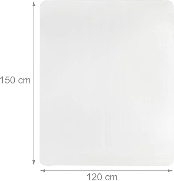 Tapis de protection bureau sol transparent 120 x 150 cm 13_0002837_2