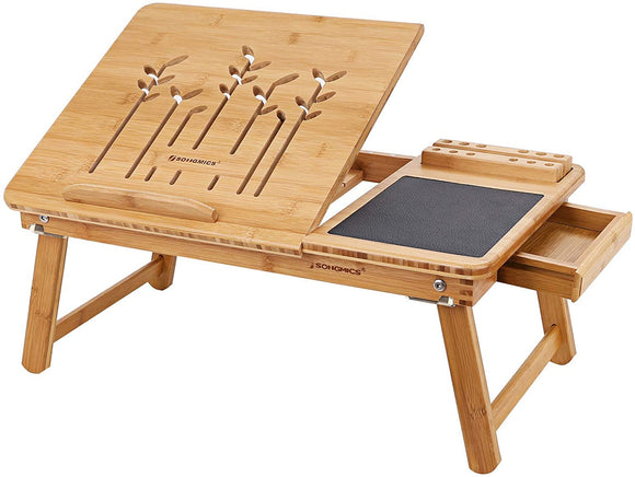 Table de lit ordinateur portable bambou naturel 12_0001051
