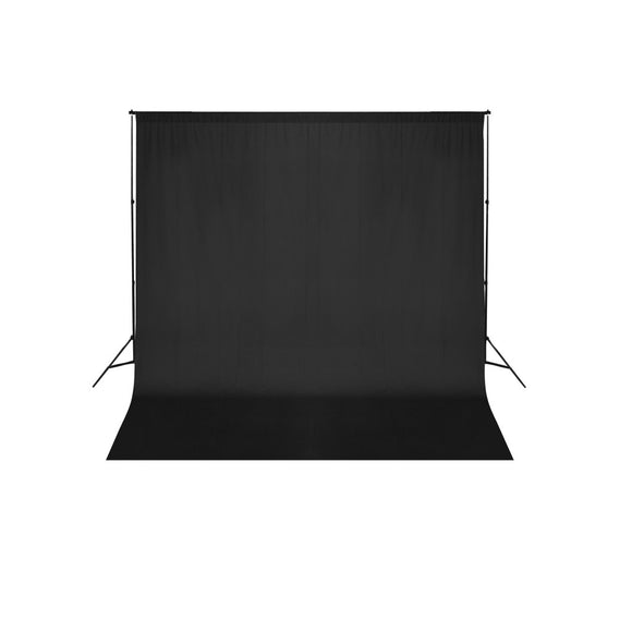 Kit Complet Studio Photo + Fond noir 3x6 1802019