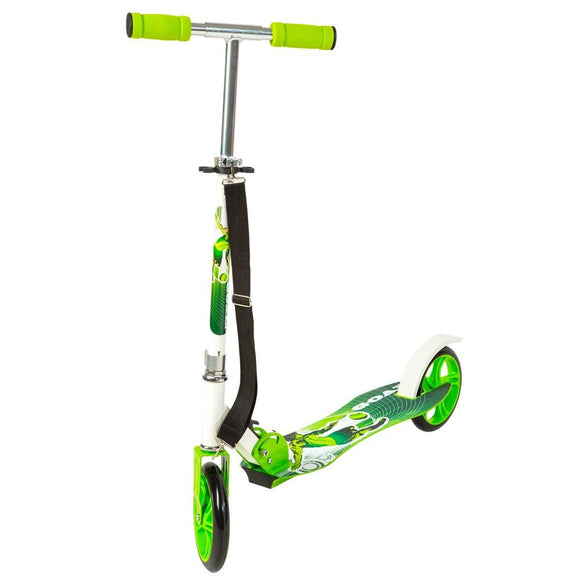 Trottinette patinette scooter enfant pliable vert 0108015