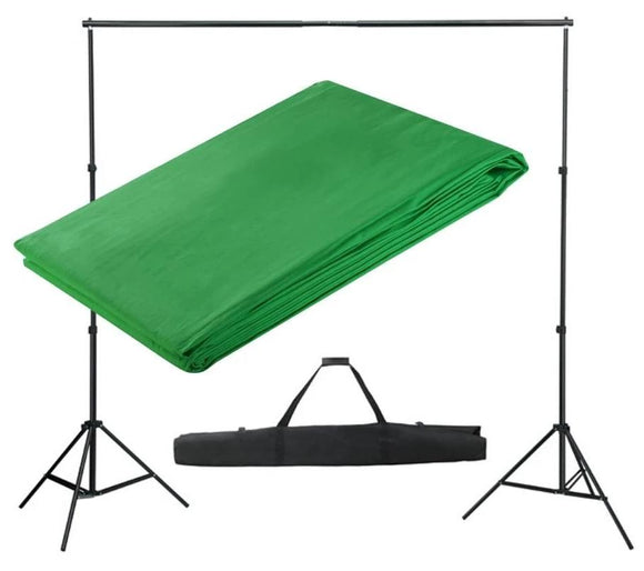 Kit Complet Studio Photo + Fond Vert 3x3 1802011