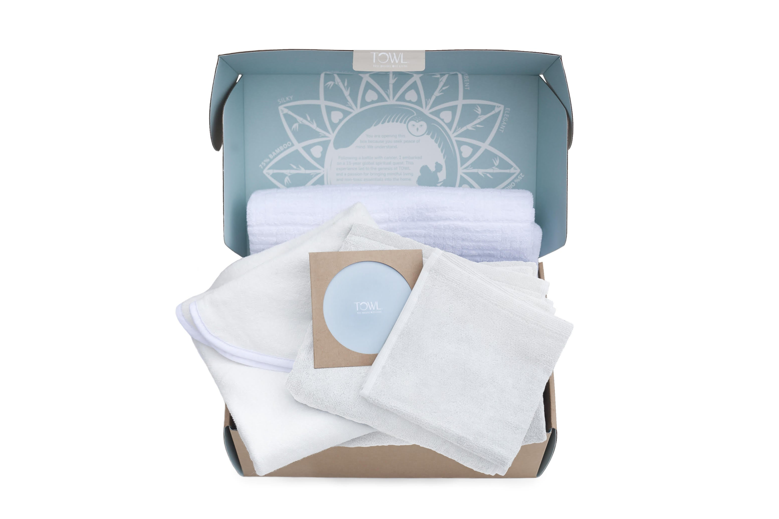 CURATED GIFT SET - Organic Bamboo Towels