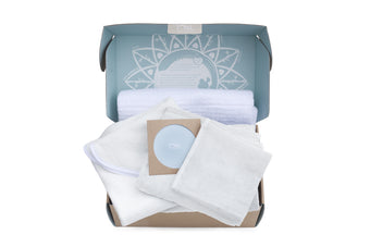 Load image into Gallery viewer, CURATED GIFT SET - Organic Bamboo Towels