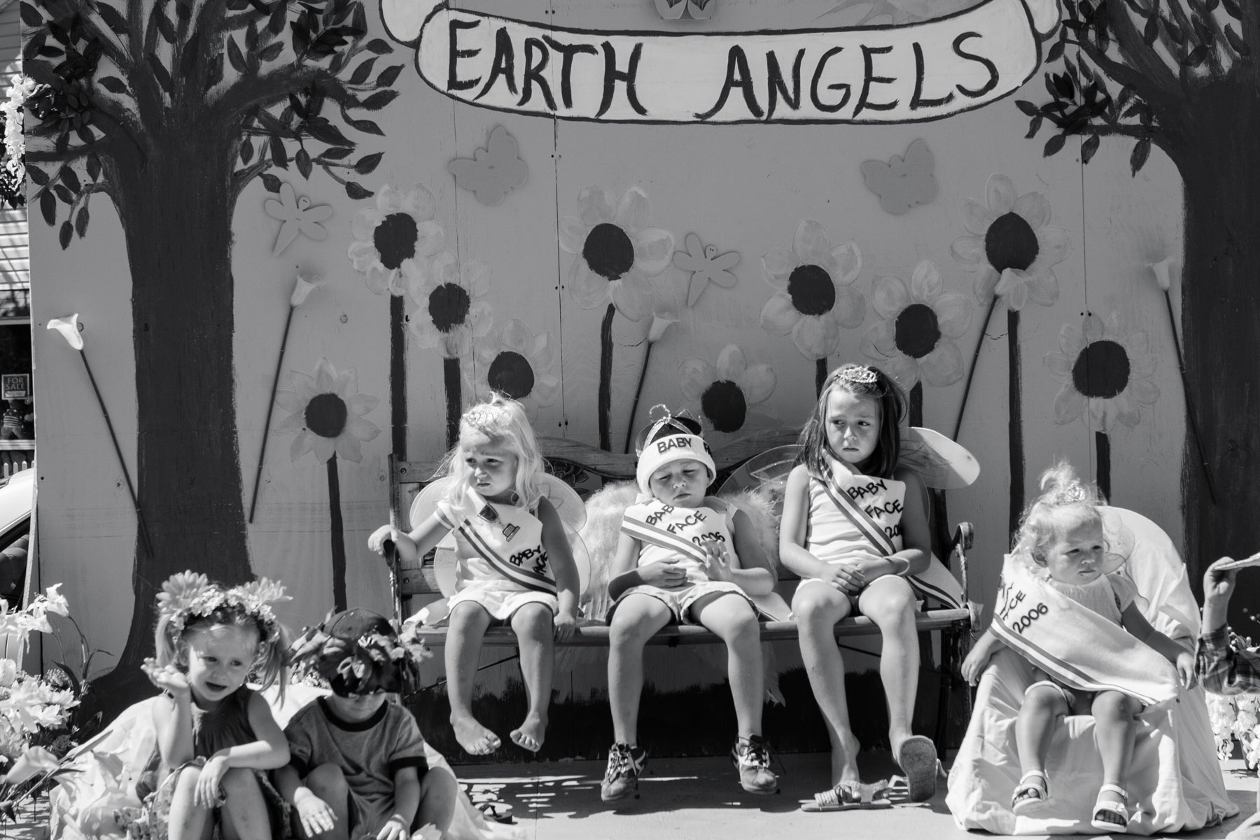 Earth Angels Black and White Photograph by Bill Bytsura