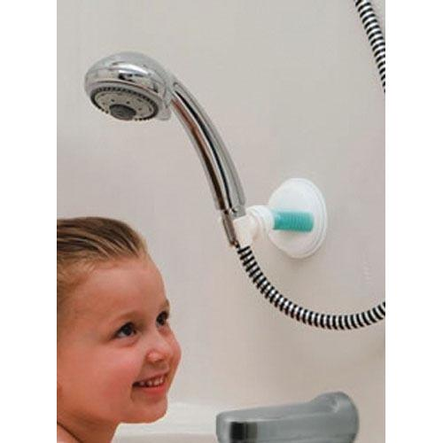 Hand-Held Suction Shower Arm Holder-Safe-er-Grip