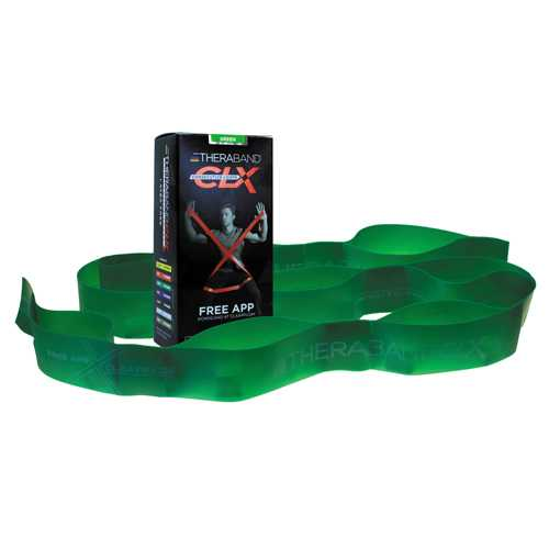 Theraband Consecutive Loops Green 5' Individual  9-Loop