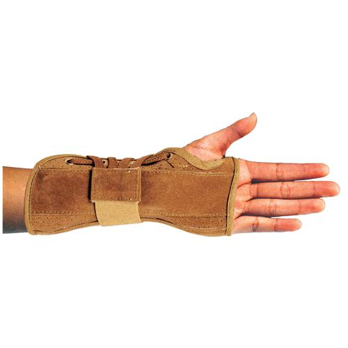 Bell-Horn Wrist Brace  Suede Black Medium Left  6.5 -7.5