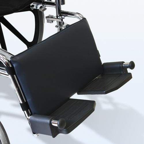 Leg Rest Pad for Wheelchairs Navy  16 w X 9 h