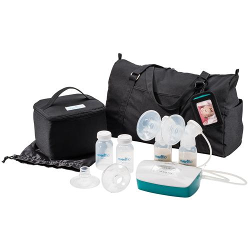 Evenflo Deluxe Advanced Breast Pump Double Electric