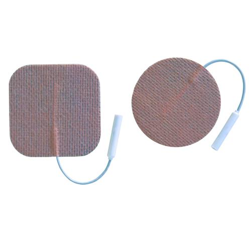 Electrodes First Choice(3165F) 2  Square  Foam  Pigtail Pk/4