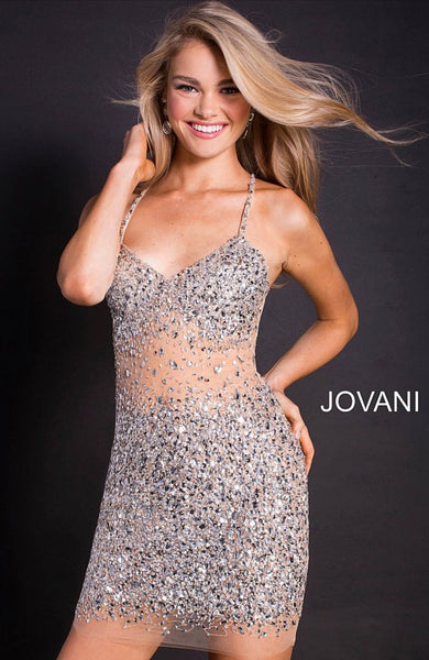 Jovani short dress 51198