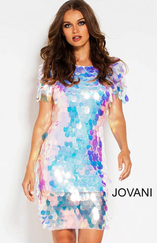 Jovani short dress 55494