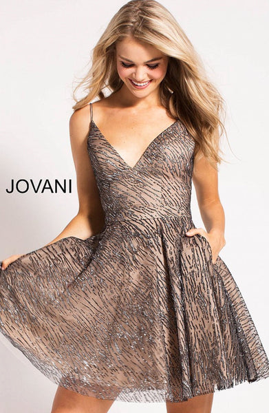 Jovani short dress 58535
