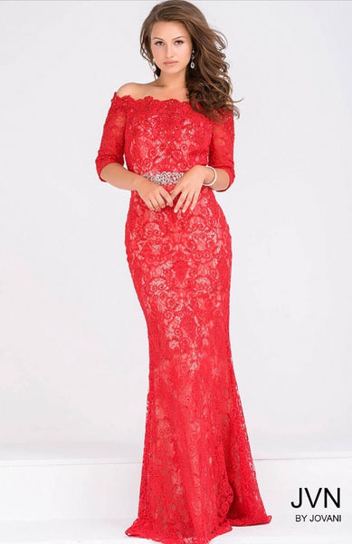 Evening dress JVN47896