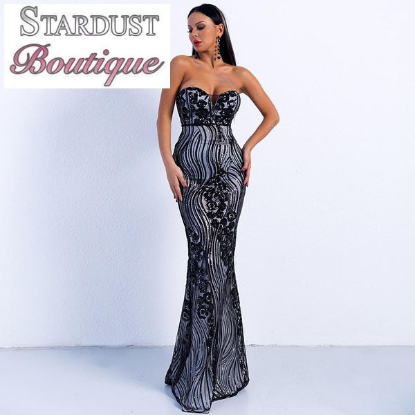 Beautiful Design Sleeveless Gown
