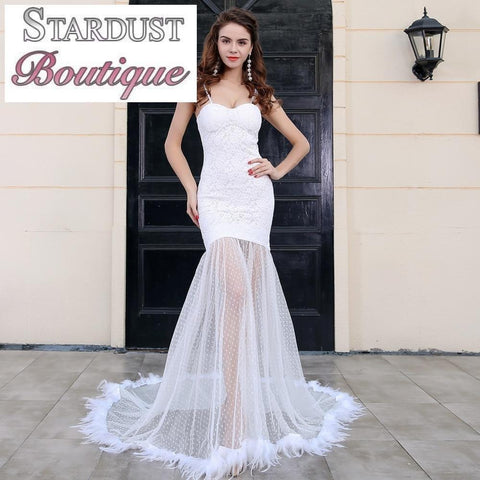 Amazing Maxi Gown Sheer Feature