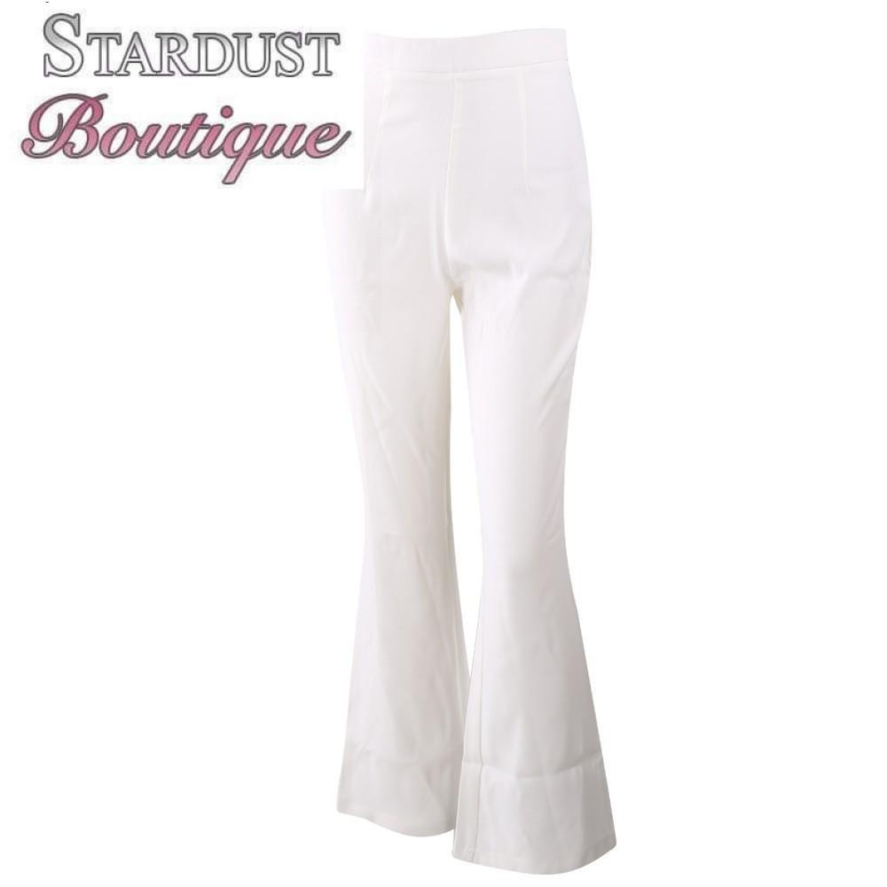 Casual High Waist Trousers Bottoms