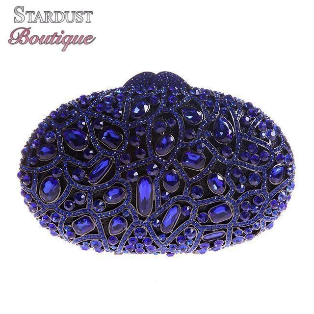 Favourite Oval Bag Luxury Crystal Clutch Purse