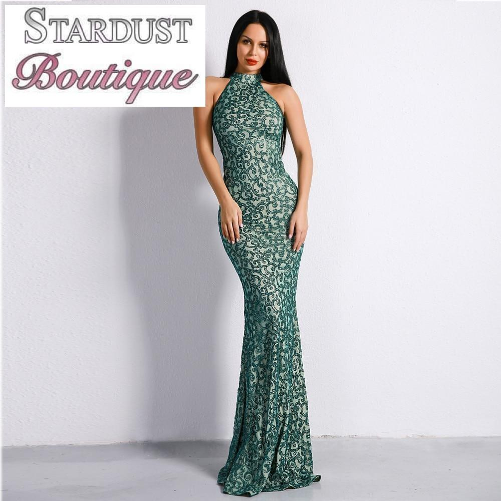 Beautiful Sparkle Pattern Evening Dress Dress