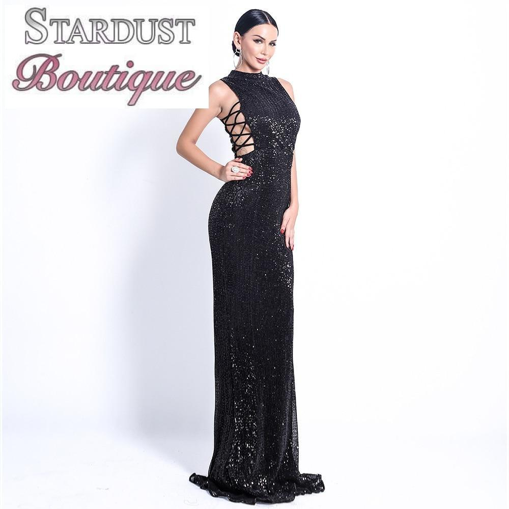 Elegant Sequin Women Dress Dress