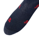 jl-the-brand-2 - HEATHER NAVY SKULL & BONES - JL The Brand - Dress Sock