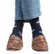 jl-the-brand-2 - NAVY COLORADO FLAG - JL The Brand - Dress Sock