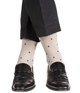 jl-the-brand-2 - LIGHT GREY POLKAS - JL The Brand - Dress Sock