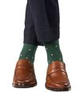 jl-the-brand-2 - HUNTER GREEN POLKAS - JL The Brand - Dress Sock