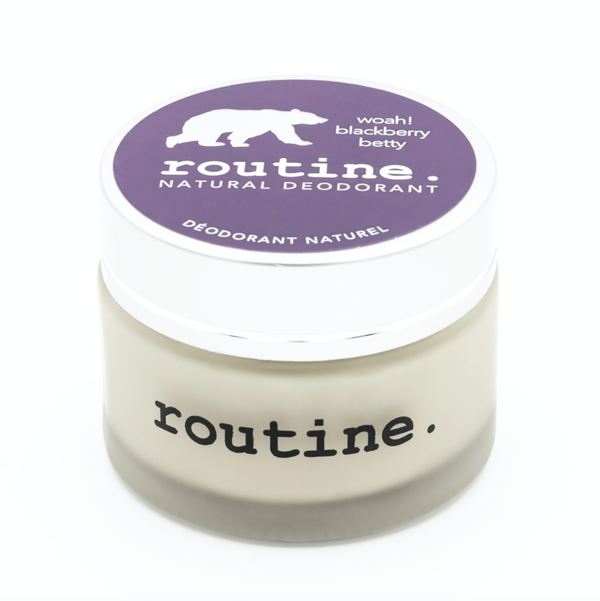 Routine. Natural Goods - Deodorant Cream - Blackberry Betty