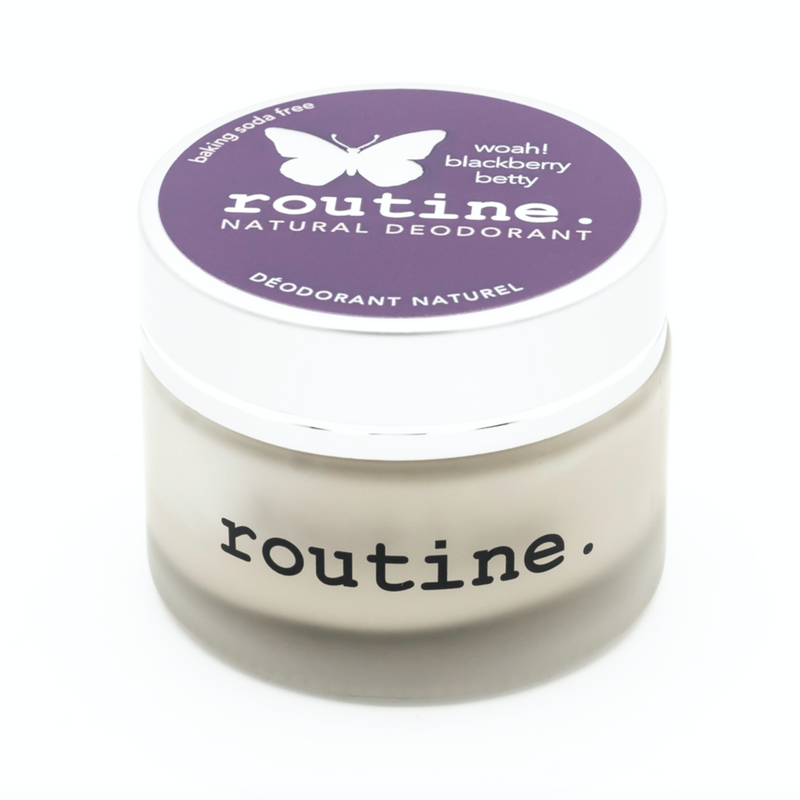 Routine. Natural Goods Baking Soda-Free Blackberry Betty - Anise Modern Apothecary