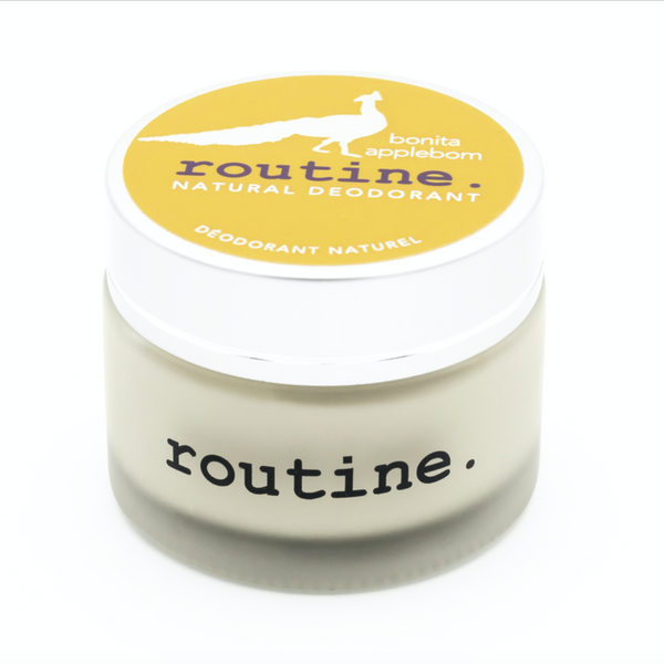 Routine. Natural Goods Bonita Applebom