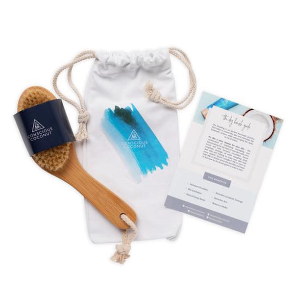 Conscious Coconut Essential Dry Brush - Anise Modern Apothecary