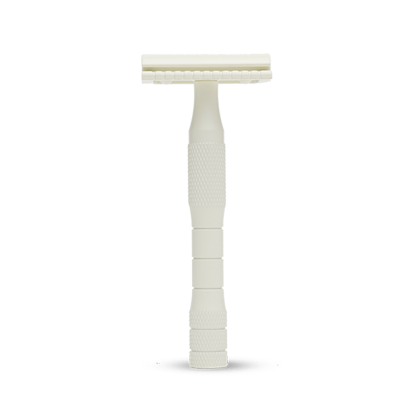 Well Kept Safety Razor Kit in Cream - Anise Modern Apothecary