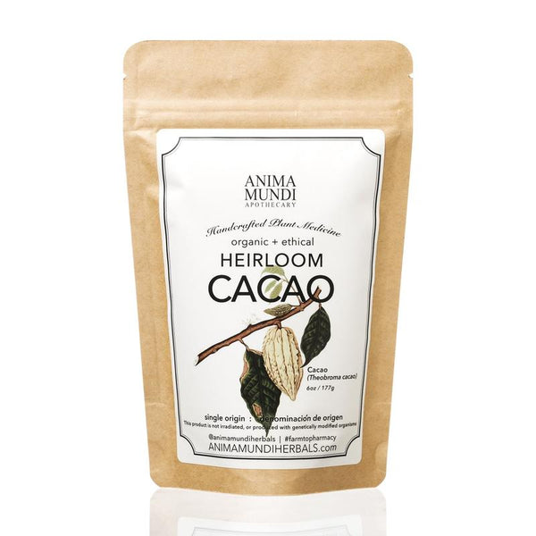 Anima Mundi Herbals Cacao : Raw, Heirloom + Organic - EXPECTED ARRIVAL END JANUARY - Anise Modern Apothecary